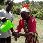 The Water Project: Shitoto Community, Mashirobe Spring -  Handwashing Training