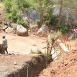 The Water Project: Katuluni Community B -  Sand Dam Progress