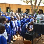 The Water Project: Kyaani Primary School -  Handwashing Training