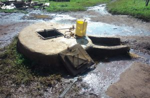 The Water Project:  Well With Hatch