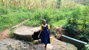 The Water Project:  Student At Water Source