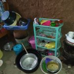 The Water Project: Shihungu Community, Shihungu Spring -  Storage In Home