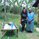 The Water Project: Emukangu Community, Okhaso Spring -  Officer Kamau With Rose