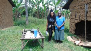 The Water Project:  Officer Kamau With Rose