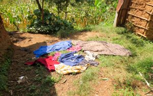 The Water Project:  Clothes Drying On The Ground