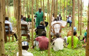 The Water Project:  Meeting With Community About Project