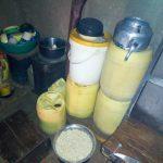The Water Project: Shisere Community, Richard Okanga Spring -  Water Storage