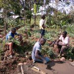 The Water Project: Shitoto Community, Mashirobe Spring -  Sanitation Platform