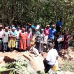 The Water Project: Upper Visiru Community, Wambosani Spring -  Spring Care Training