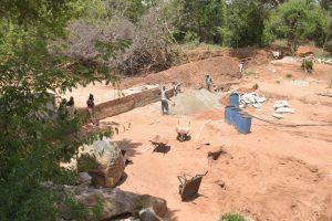 The Water Project:  Sand Dam Construction