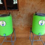 The Water Project: Isulu Primary School -  New Handwashing Stations