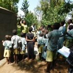 The Water Project: Eshisenye Primary School -  Tank Care Training