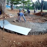The Water Project: Imbale Primary School -  Tank Construction