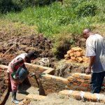 The Water Project: Emaka Community, Ateka Spring -  Spring Construction