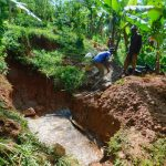 The Water Project: Asimuli Community, John Omusembi Spring -  Spring Excavation