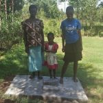 The Water Project: Masera Community, Murumba Spring -  Finished Sanitation Platform