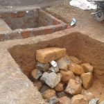 The Water Project: Lwanda Secondary School -  Soak Pit Construction