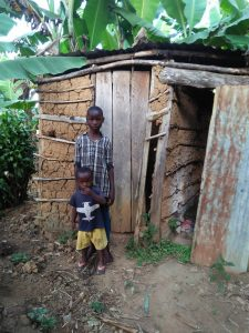 The Water Project:  Showing Us The Family Latrine