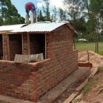 The Water Project: Gidagadi Secondary School -  Latrine Construction