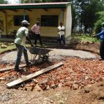 The Water Project: Mavusi Primary School -  Tank Construction