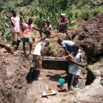 The Water Project: Shitoto Community, Mashirobe Spring -  Spring Construction