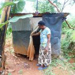 The Water Project: Mukhunya Community, Mwore Spring -  Latrine