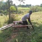 The Water Project: Shivanga Primary School -  Latrine Construction