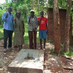 The Water Project: Shirugu Community, Mashela Spring -  Sanitation Platform