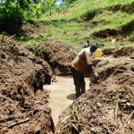 The Water Project: Koloch Community, Solomon Pendi Spring -  Excavation