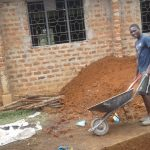The Water Project: Lwanda Secondary School -  Construction