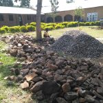 The Water Project: Shivanga Primary School -  Construction Materials