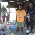 The Water Project: Emukangu Community, Okhaso Spring -  In The Kitchen