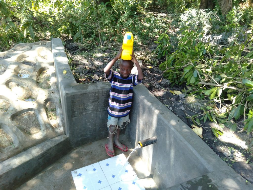 The Water Project : 19-kenya18151-water-flowing