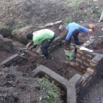 The Water Project: Shirugu Community, Shapaya Mavonga Spring -  Spring Construction