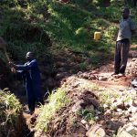 The Water Project: Chepnonochi Community, Chepnonochi Spring -  Spring Excavation