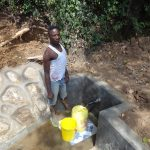 The Water Project: Shitirira Community, Peninah Spring -  Flowing Water