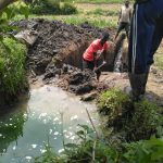 The Water Project: Elutali Community, Obati Spring -  Spring Excavation