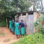 The Water Project: Ebutenje Primary School -  Latrines