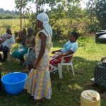 The Water Project: Emaka Community, Ateka Spring -  Handwashing Training