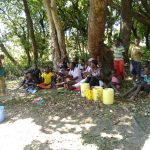 The Water Project: Lunyi Community, Fedha Mukhwana Spring -  Training