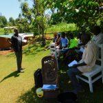 The Water Project: Koloch Community, Solomon Pendi Spring -  Training