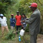 The Water Project: Ilinge Community D -  Tippy Tap Handwashing Training
