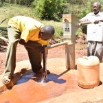 The Water Project: Mbakoni Community A -  Water Flowing