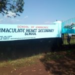 The Water Project: Immaculate Heart Secondary School -  School Entrance