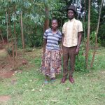 The Water Project: Shihungu Community, Shihungu Spring -  Mr And Mrs Shihungu