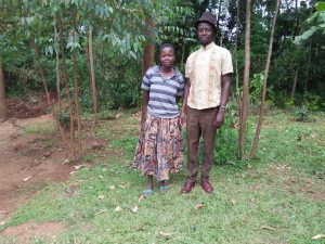 The Water Project:  Mr And Mrs Shihungu