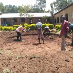 The Water Project: Shivanga Primary School -  Tank Construction