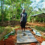 The Water Project: Asimuli Community, John Omusembi Spring -  Sanitation Platform