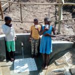 The Water Project: Masera Community, Murumba Spring -  Water Flowing