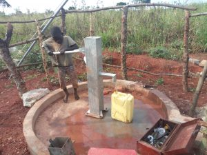 The Water Project:  Test Pumping